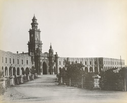 Reay gate, Clock-Tower and Bahauddin Buildings from the west [Junagarh]